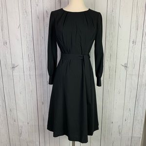 Brooks Brothers   100% Wool black dress